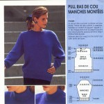 patron tricoter un pull #8