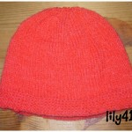 photo tricot tricot modele bonnet naissance 14