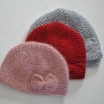 photo tricot tricot modele bonnet naissance 15