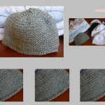photo tricot tricot modele bonnet naissance 16
