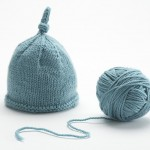 photo tricot tricot modele bonnet naissance 9