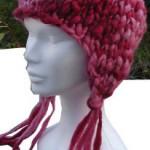tricot modele bonnet peruvien #10