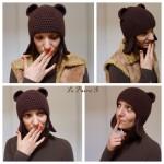 tricot modele bonnet peruvien #2