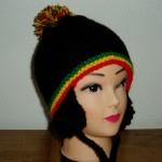 tricot modele bonnet peruvien #6