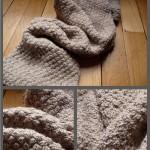 tricoter modele echarpe #12