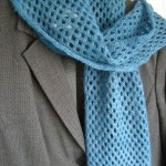 tricoter modele echarpe #14