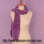 tricoter modele echarpe #17