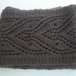 tricoter modele echarpe #18