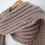 tricoter modele echarpe #2