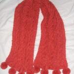 tricoter modele echarpe #4