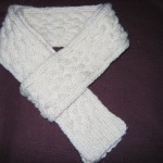 tricoter modele echarpe #5