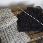 tricoter modele echarpe #8