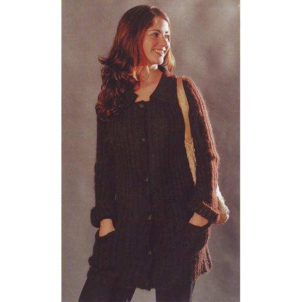 tricoter modele gilet #10
