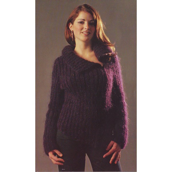 tricoter modele gilet #11