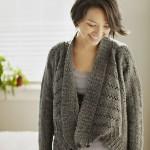 tricoter modele gilet #13