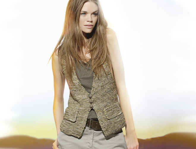 tricoter modele gilet #15