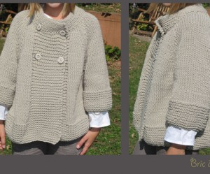tricoter modele gilet #18