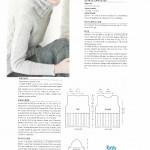 tricoter modele gilet #2