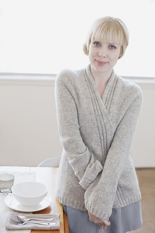 tricoter modele gilet #4