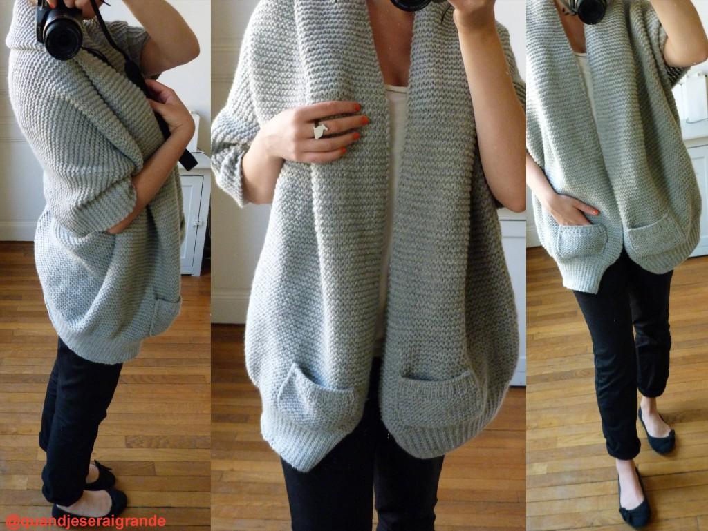 tricoter modele gilet #5