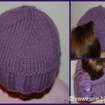 photo tricot comment tricoter un bonnet 16