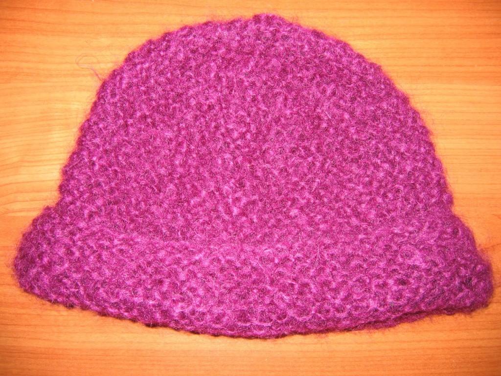 Photo tricot comment tricoter un bonnet 7 - Comment arreter un tricot ...
