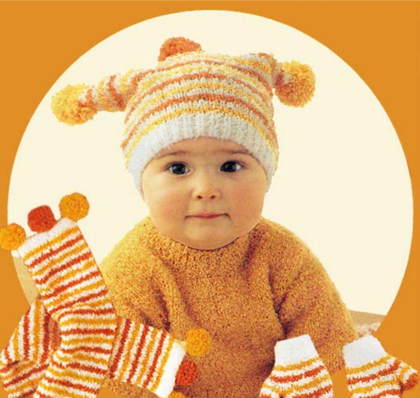 photo tricot comment tricoter un bonnet pour bébé 11