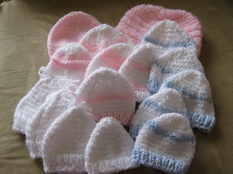 photo tricot comment tricoter un bonnet pour b b 13. Black Bedroom Furniture Sets. Home Design Ideas