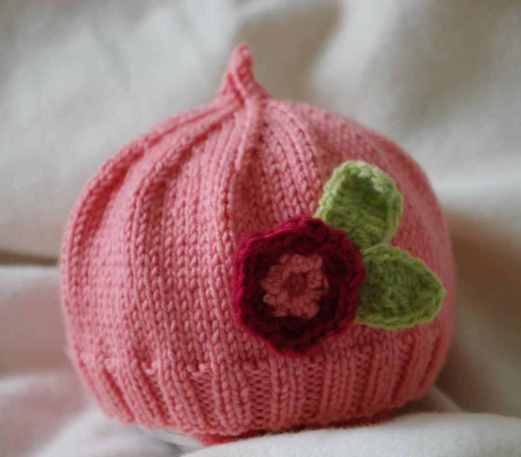 photo tricot comment tricoter un bonnet pour bébé 14