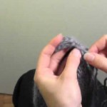 photo tricot comment tricoter un bonnet pour bébé 18