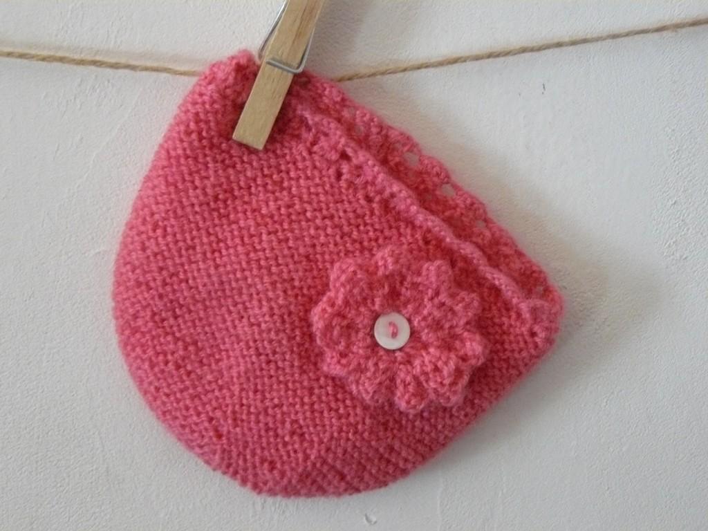photo tricot comment tricoter un bonnet pour b b 7. Black Bedroom Furniture Sets. Home Design Ideas