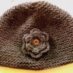 photo tricot modèle bonnet tricot gratuit pour bébé 12