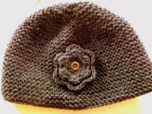 photo tricot modèle bonnet tricot gratuit pour bébé 12 19a97b2657f