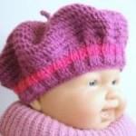 photo tricot modèle bonnet tricot gratuit pour bébé 13