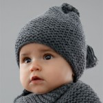 photo tricot modèle bonnet tricot gratuit pour bébé 14