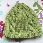 photo tricot modèle bonnet tricot gratuit pour bébé 15