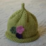 photo tricot modèle bonnet tricot gratuit pour bébé 3