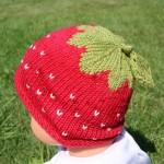 photo tricot modèle bonnet tricot gratuit pour bébé 5