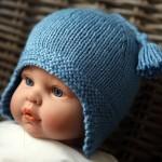 photo tricot modèle bonnet tricot gratuit pour bébé 6