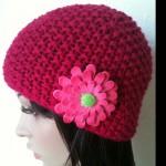photo tricot modèle bonnet tricot point de riz 11