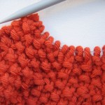 photo tricot modèle bonnet tricot point de riz 17