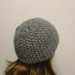 photo tricot modèle bonnet tricot point de riz 4