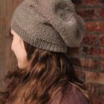 photo tricot modèle bonnet tricot point de riz 5