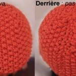 photo tricot modèle bonnet tricot point de riz 8
