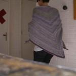 photo tricot modèle chale tricot débutant 10