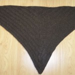 photo tricot modèle chale tricot débutant 12