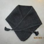 photo tricot modèle chale tricot débutant 6
