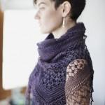 photo tricot modèle chale tricot débutant 7