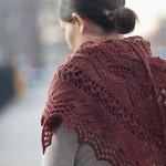 photo tricot modèle chale tricot débutant 8