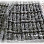 photo tricot modèle tricot écharpe bergère de france 11